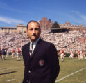 Georgia Bulldogs's coach Vince Dooley at Sanford Stadium, 1965