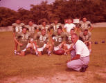 Valdosta High's coach Wright Bazemore with his all-star players, 1963