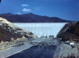 Fontana Dam located on the Little Tennessee River, circa 1940s