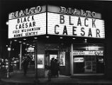 "Movie theater goers line up at the Rialto's box office for ""Black Caesar,"" 1973"