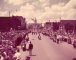 Jean MacArthur's hometown of Murfreesboro celebrates their visit with a city wide celebration, 1951
