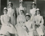 Grady Hospital nurses, Atlanta, Georgia, 1896.
