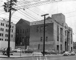 Newly constructed Atlanta Police Headquarters near Butler and Decatur Street, circa 1960s