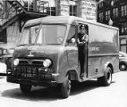 Atlanta police department's newly acquired paddy wagon, 1954