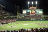Jacobs Field, Cleveland, Ohio, World Series Game Three, 1995