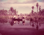A Family fishes in the Okefenokee Swamp, 1952