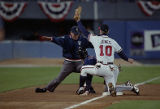 Kenny Lofton steal third base, World Series Game One, 1995
