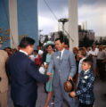 Governor Sanders with his family at the NY World's Fair on Georgia day, 1964
