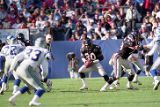 Atlanta Falcon Mike Rozier in action against the Seattle Seahawks, December 15, 1991