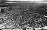 "Crowds gather for Kiss ""Destroyer Tour"" at Fulton County Stadium, 1976"
