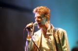 David Bowie during the Outside Tour, 1995