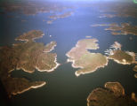 Aerial of Lake Lanier, 1961