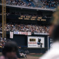 Atlanta Braves home stadium tracking Hank Aaron's homeruns, 1973