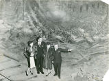 Atlanta Cyclorama, with George Simons, from the Atlanta City Parks Department, December 16, 1939.