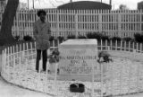 Eternal flame and grave site of Martin Luther King Jr., 1974