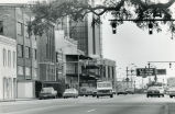 Government Street, looking east towards Bankhead Tunnel, Mobile, Alabama, January 7, 1988.