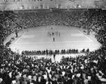 Georgia Tech basketball fans fill the Alexander Memorial Coliseum during a game, 1956