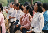 Catholic service at the Vietnamese American Community in Grant Park, 1994