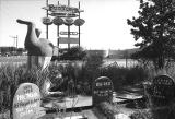 Funtown Amusement Center in ruins, Atlanta, 1981