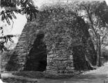 Remains of the Copper Iron Works furnace stack, 1930s