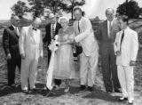 Ground-breaking ceremony for the Alexander Memorial Coliseum at Georgia Tech, 1955