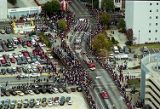 Procession through downtown Atlanta for the Braves World Series victory parade, 1995