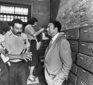 Mayor Andrew Young visits Guatemala to discuss police training opportunities, 1987