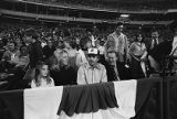 Ted Turner watching the first game as team owner of the Atlanta Braves, 1976