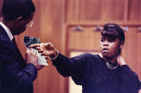 Witness Janice Weldon during the Julie Love murder trial, 1990