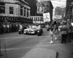 Presidential candidate Richard B. Russell parades through downtown Atlanta, 1952