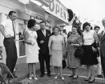 Grand opening of KFC in place of the former Chick-Chuck-'N'-Shake restaurant, 1960s