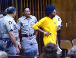Serial killer Carlton Gary on trial for murder in Columbus, 1986