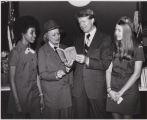 Girl Scouts celebrate 60th anniversary of founding, with Georgia Governor Jimmy Carter, Atlanta,...