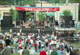 Music Midtown festival attendees at the Coca Cola stage, 1994