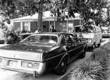 Police search the property of murder suspect Wayne Williams for the Atlanta Child Murders, 1981