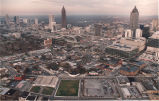 Aerial view of Atlanta, Georgia, November 18, 1993.