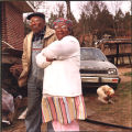 Clyde and Lula Trawick, litigants in a trial in Federal Court in Macon, pitting them against...