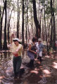 High school and elementary school teachers in tupelo gum swamp, Covington, Georgia, June 18, 1993.