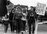"""Take Back the Night"" ""March Against Rape,"" sponsored by the Cobb County YWCA..."