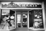 Facade of Charis Books and More, Little Five Points, Atlanta, Georgia, August 22, 1987.