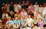 "Cast photo for Rebecca Ranson's ""Higher Ground: Voices of AIDS,"" Horizon Theatre,..."
