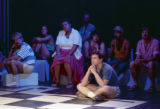 "Some of the cast of Rebecca Ranson's ""Higher Ground: Voices of AIDS,"" Horizon Theatre,..."