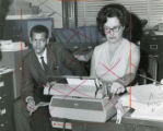 Julian Bond, barred from his seat in the Georgia House, prepares papers to run for his seat in a...