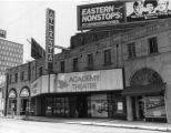 Academy Theatre, in the Erlanger Theater building (583 Peachtree Street), Atlanta, Georgia, June...