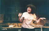 "Brenda Bynum in Willy Russell's one-character play ""Shirley Valentine,"" Theatre in the..."