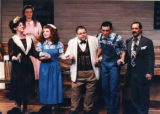 "Sanders Family Singers, cast of Alan Bailey and Connie Ray's ""Smoke on the Mountain,""..."