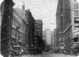 Intersection of North Broad Street and Marietta Street, Atlanta, Georgia, 1910s.