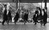 Traditional dancers at the annual Greek festival, Greek Orthodox Cathedral of the Annunciation,...
