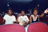 Audience at the amateur night, Apollo Theater, Atlanta, Georgia, August 11, 1990.