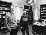 Gene Loring (left), Christopher's Kind retail bookstore, at the Atlanta Gay Center, directed by...